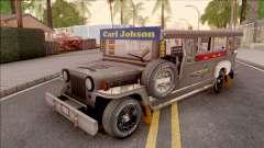 Galvanized Jeepney for GTA San Andreas