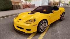 Chevrolet Corvette ZR1 C6 2009 for GTA San Andreas