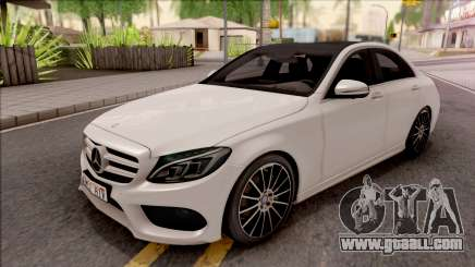 Mercedes-Benz C250 AMG Line v1 for GTA San Andreas