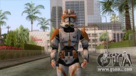 Star Wars JKA - Commander Cody Skin for GTA San Andreas