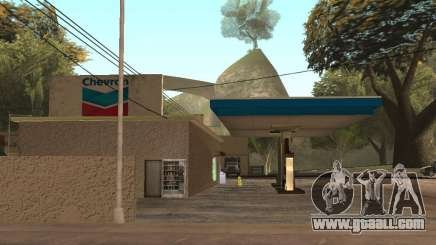 Chevron Gas Station for GTA San Andreas