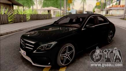Mercedes-Benz C250 AMG Line v2 for GTA San Andreas