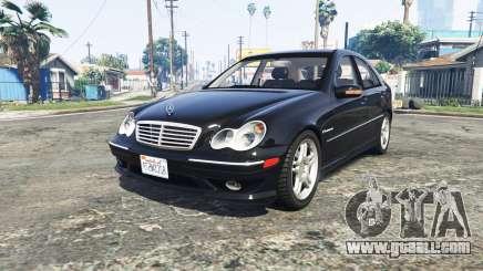 Mercedes-Benz C32 AMG (W203) 2004 [add-on] for GTA 5