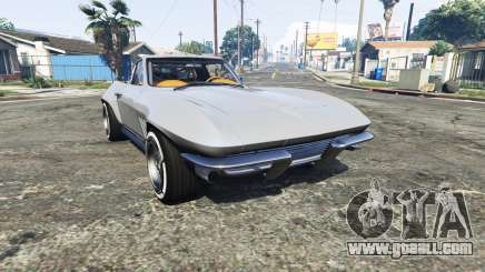 Chevrolet Corvette Sting Ray (C2) [replace] for GTA 5
