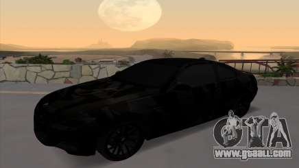 BMW M3 E92 GTR Black Camo for GTA San Andreas