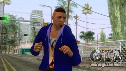 Chris Redfield Casual for GTA San Andreas