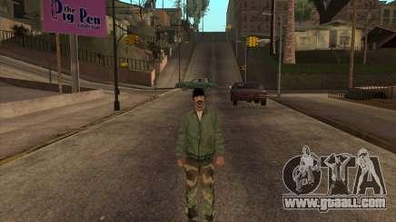 Psycho Beta Skin for GTA San Andreas