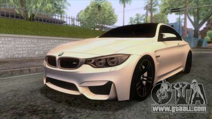 BMW M4 GTS High Quality for GTA San Andreas