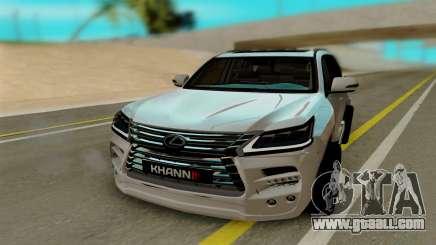 Lexus Lx570 KHAN III for GTA San Andreas