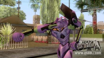 Neon Genesis Evangelion - EVA 01 for GTA San Andreas