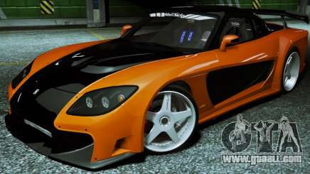 Mazda RX-7 VeilSide Fortune 1997 for GTA 5