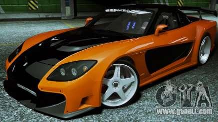 Mazda RX-7 VeilSide Fortune 1997 for GTA 5