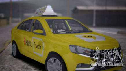 Lada Vesta Yandex Taxi (LVYT) Beta 0.1 for GTA San Andreas
