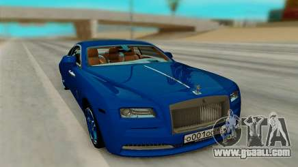 Rolls Royce Wraith for GTA San Andreas