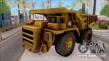 BELAZ-75214 HQLM for GTA San Andreas