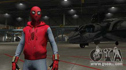Spider-Man Home-Made Suit for GTA 5