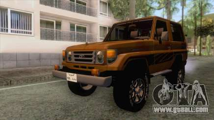 Toyota Land Cruiser FJ70 2005 for GTA San Andreas
