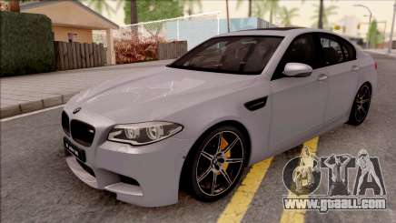 BMW M5 F10 30 Jahre for GTA San Andreas