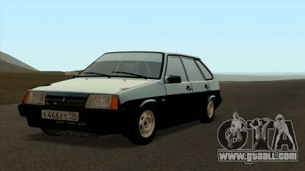 VAZ 2109 for the original for GTA San Andreas