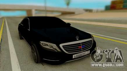 Mercedes-Benz S63 AMG 222 for GTA San Andreas