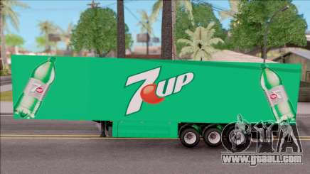 Remolque 7up for GTA San Andreas