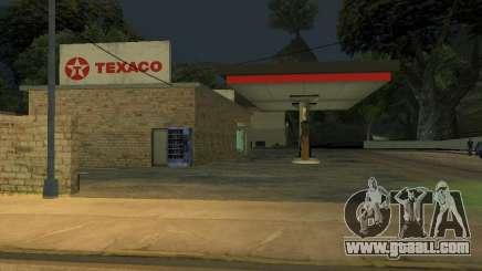 Texaco Gas Station for GTA San Andreas