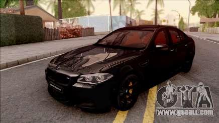 BMW M5 F10 Nighthawk for GTA San Andreas