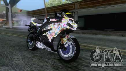 Kawasaki Ninja ZX-6R BoomCustom for GTA San Andreas