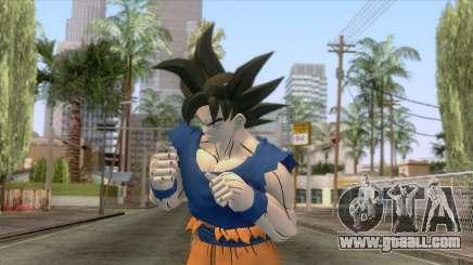 Goku Ultra Instinct Skin for GTA San Andreas