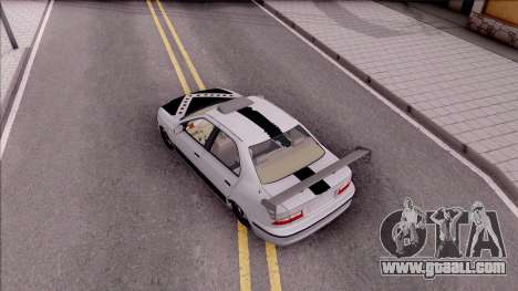 Iran Khodro Samand LX Full Sport for GTA San Andreas back view
