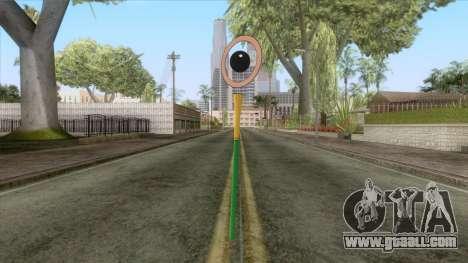 Dragon Ball - Sour Weapon for GTA San Andreas second screenshot