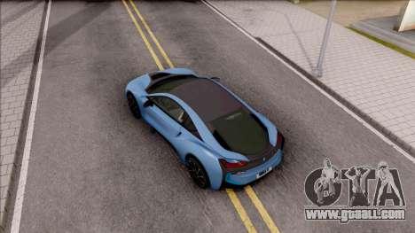 BMW i8 2017 for GTA San Andreas