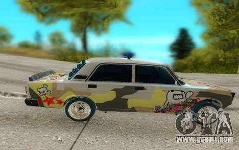 Two thousand one hundred seven for GTA San Andreas