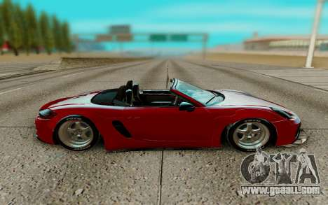 Porsche Cayman for GTA San Andreas left view