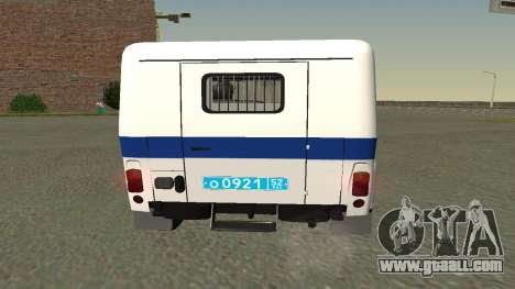 UAZ hunter PPSP (Facelift II) V0.1 for GTA San Andreas right view
