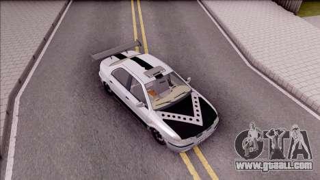 Iran Khodro Samand LX Full Sport for GTA San Andreas right view