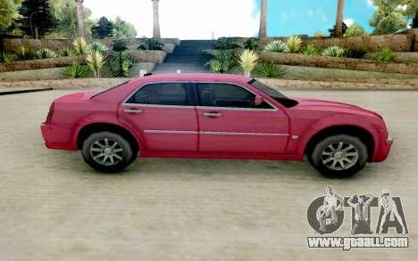 Chrysler 300C 2008 for GTA San Andreas left view