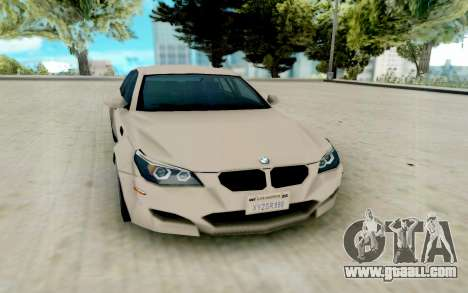 BMW M5 E60 Lumma Edition for GTA San Andreas
