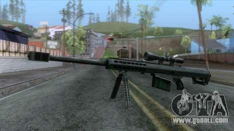 Barrett M82A1 Anti-Material Sniper Rifle v1 for GTA San Andreas