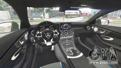GTA 5 Mercedes-Benz C 63 S AMG widebody [add-on] rear right side view