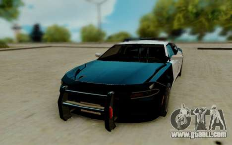 Dodge Charger SRT8 Hellcat 2015 for GTA San Andreas