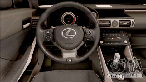 Lexus IS XE30 200t F Sport 2017 for GTA San Andreas