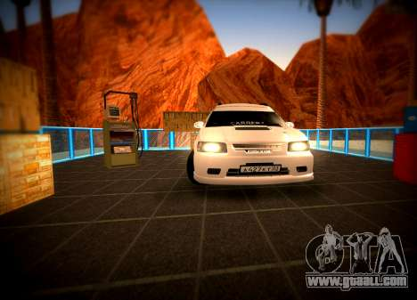 Toyota Carib for GTA San Andreas back view
