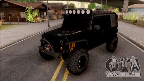 Jeep Wrangler Rubicon Off-Road for GTA San Andreas