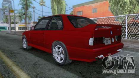BMW M3 E30 1986 v2 for GTA San Andreas
