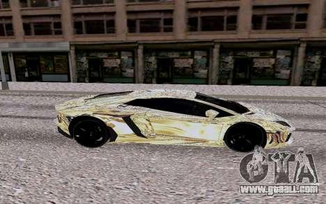 Lamborghini Aventador LP700 4 for GTA San Andreas