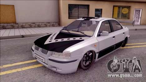 Iran Khodro Samand LX Full Sport for GTA San Andreas