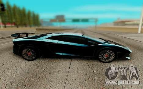 Lamborghini Aventador SV 2015 for GTA San Andreas