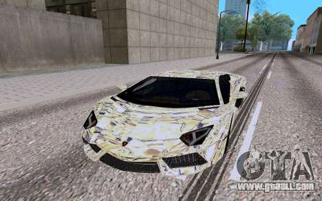 Lamborghini Aventador LP700 4 for GTA San Andreas