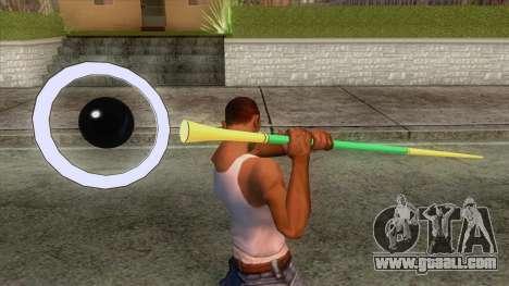 Dragon Ball - Sour Weapon for GTA San Andreas third screenshot